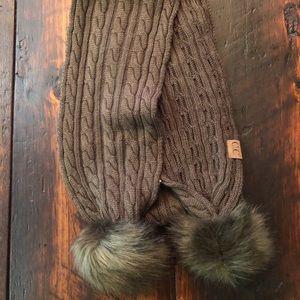 C.C. Knit scarf